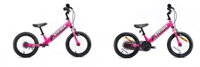 簡単に自転車に乗れるようになる「STRIDER 14x」の新色登場!
