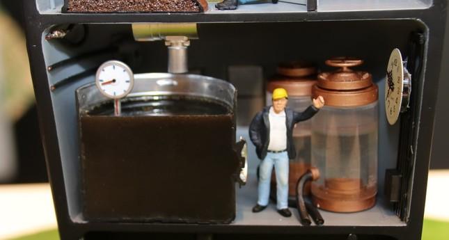 コールドブリューコーヒーの断面の制作は特に大変だったとの話