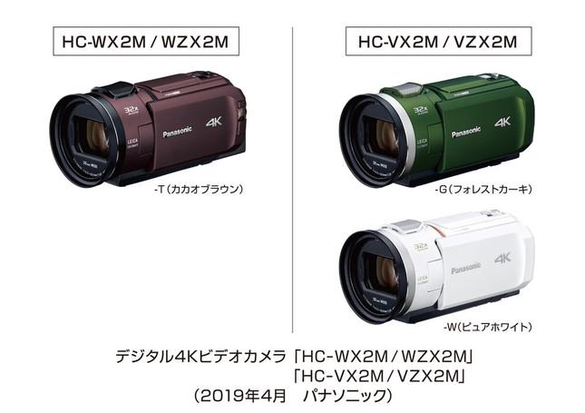 高画質4K映像が、より手軽に撮影できる
