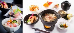 松山風と宇和島風の2種類を用意 愛媛の選べる鯛めし付きプラン