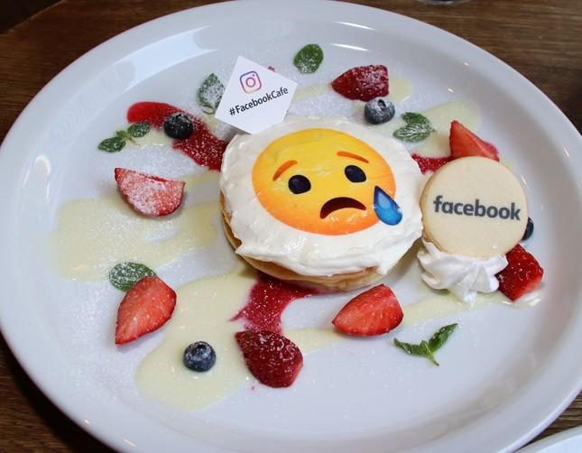 もっとも「甘い」ホワイトチョコレートの「悲しいね」パンケーキ