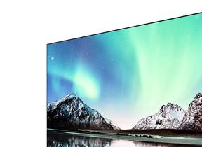 BS&CS4Kチューナー内蔵 幅1.6ミリ「ベゼルレス」4K液晶テレビ