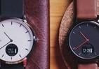 アナログ腕時計のフェイスに計測機能搭載 スマートウォッチ