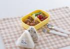 直接手を触れず握って包み食べられるグッズ おにぎりの食中毒リスクを低減