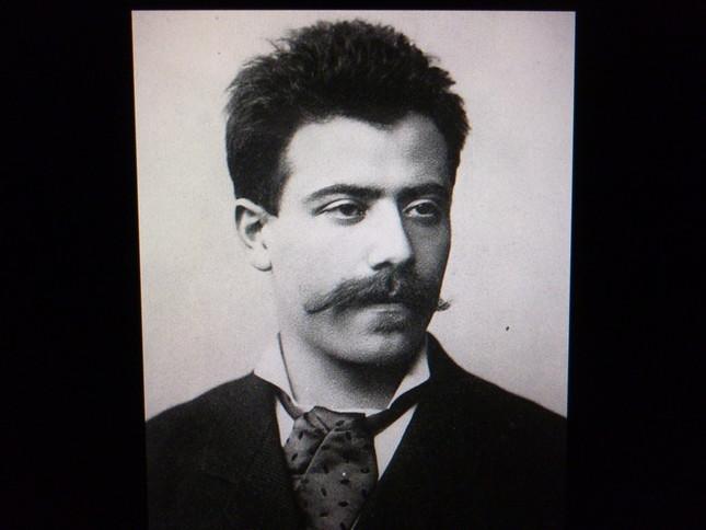 若き日のマーラーの肖像