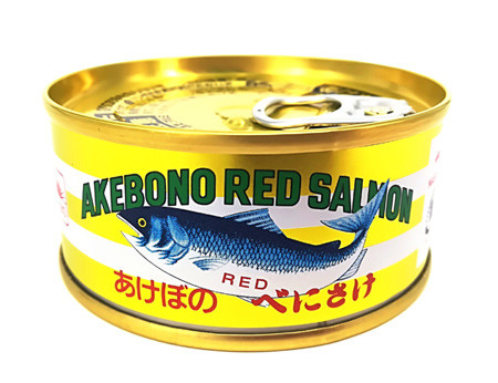 金色の紅鮭缶が復活