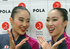 新体操フェアリージャパン「令和メーク」だ 東京五輪に向け「大人の魅力」全開