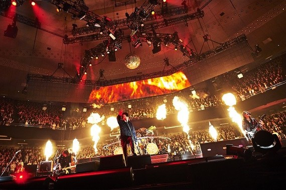 日本武道館での「LUNA SEA 30th anniversary LIVE-Story of the ten thousand days」((C)田辺佳子)