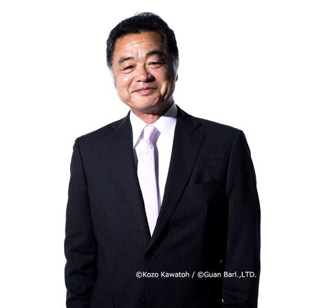 システムボイス・メール通知ボイスを担当する川藤幸三さん