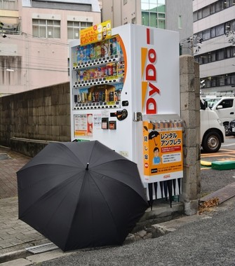 レンタル傘が「忘れもの傘」に