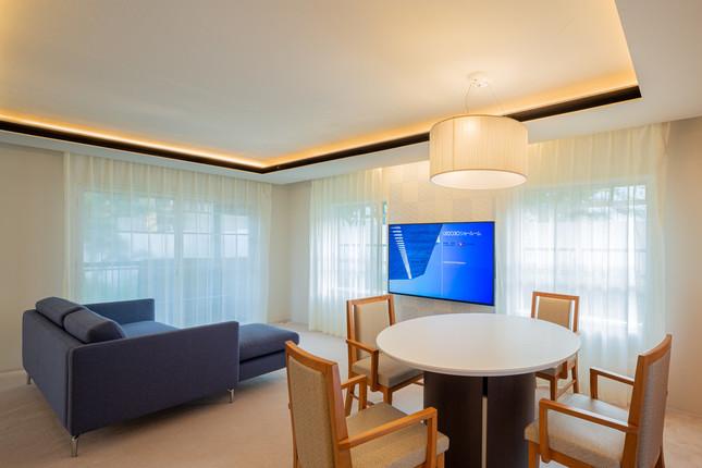 2030年の暮らしをイメージした部屋