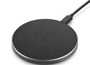「BANG & OLUFSEN」ブランド 最高級素材使用「Qi」ワイヤレス充電器