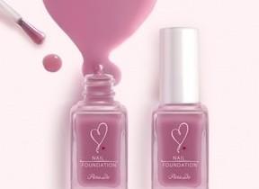 人気のモテネイル「ネイルファンデーション」 新色「両想いピンク」