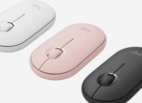 クリック音90%削減 薄型デザインのワイヤレス静音マウス