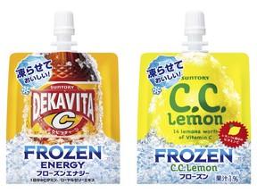 「デカビタC」「C.C.レモン」に冷凍可能なパウチタイプ