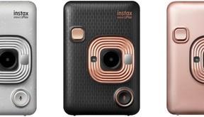 シリーズ史上最小 「音」も記録できるインスタントカメラ「チェキ」