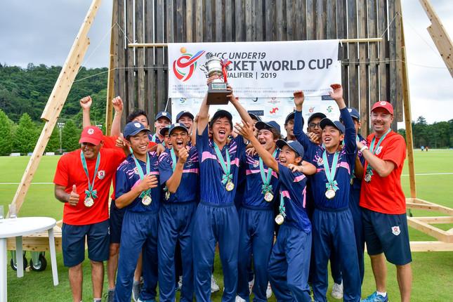 19歳以下のクリケット日本代表は全世代初のW杯出場を勝ち取った