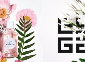 かぐわしい花々の朝霧の香りのフレグランス ジバンシイより