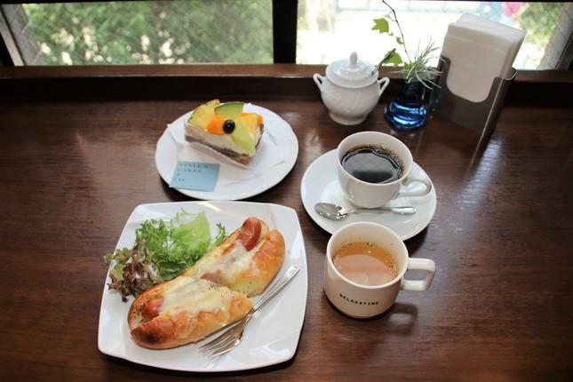 「文房堂GalleryCafe」人気の軽食、スイーツメニュー