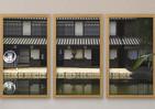 窓に映る江戸時代の景色 「東映太秦映画村」が映像に