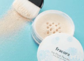 「肌フローラケア」清涼感プラスのフェイスパウダーと化粧下地をセットに