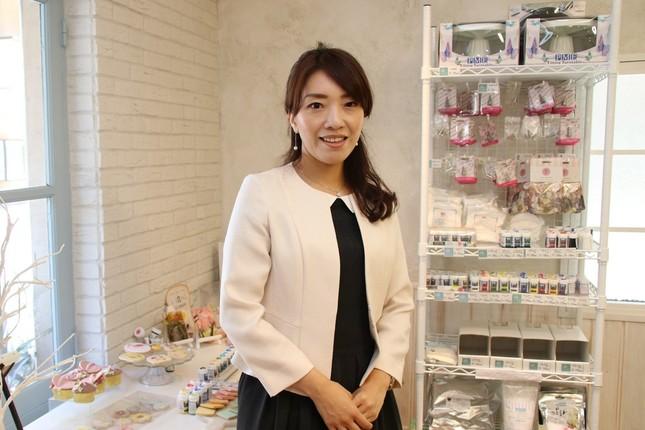 日本サロネーゼ協会代表理事の桔梗有香子さん