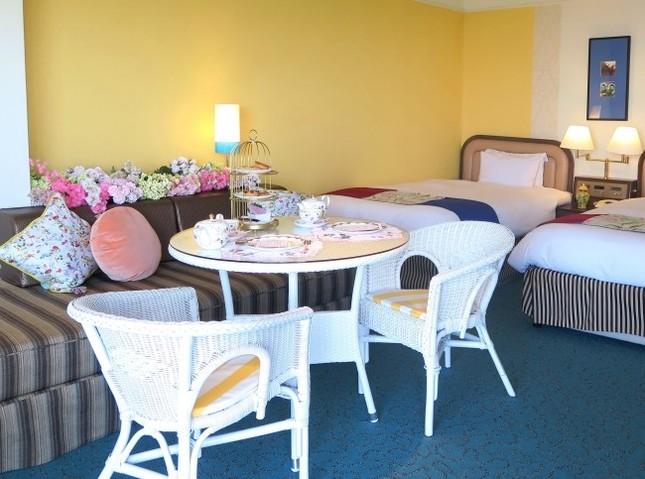 南館ジュニアスイートルーム、南館サウスリゾートルームの2室をプロデュース