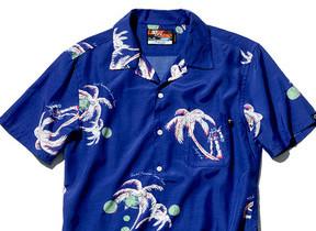 沖縄発「PAIKAJI」と「ガンダム」コラボのアロハシャツ
