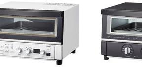 2重のガラス扉で効率よく加熱 オーブントースター