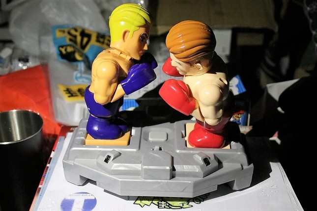 タカラトミーのボクシングトイ「拳闘士ガチンコファイト」