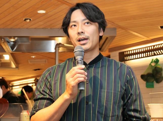 元バドミントン日本代表の池田信太郎さん