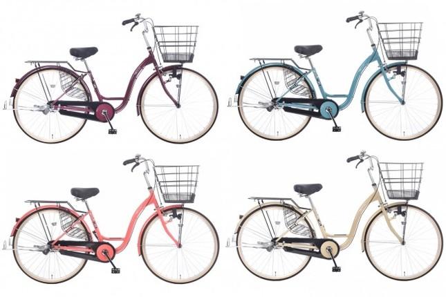 毎日の買い物に特化した買い物専用自転車シリーズ