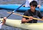 カヌー教室に羽根田卓也が登場 優しい指導と豪快な個人技で魅せた