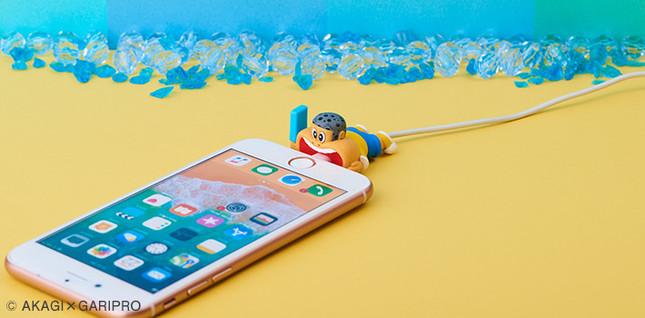 「ガリガリ君」がiPhoneをガリガリ!?