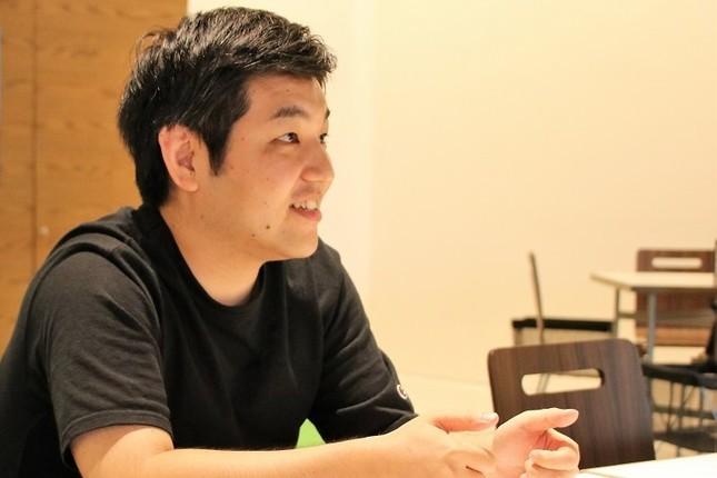 ソフトバンク・VR事業推進課の五十嵐和夫さん