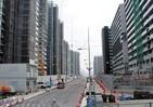 「選手村」、東京五輪1年前の姿 跡地は1万2000人が住む「街」に
