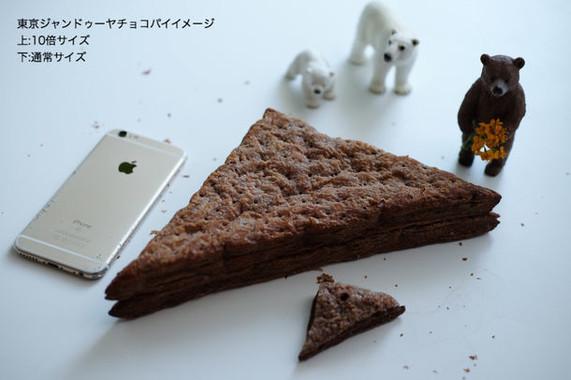 iPhoneより大きい10倍チョコパイ