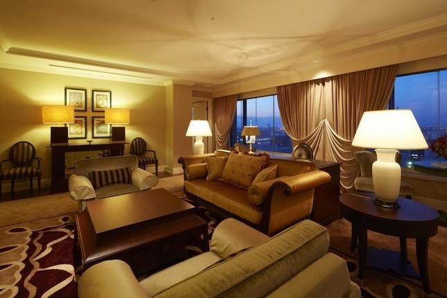 歴史あるホテルの特別な客室