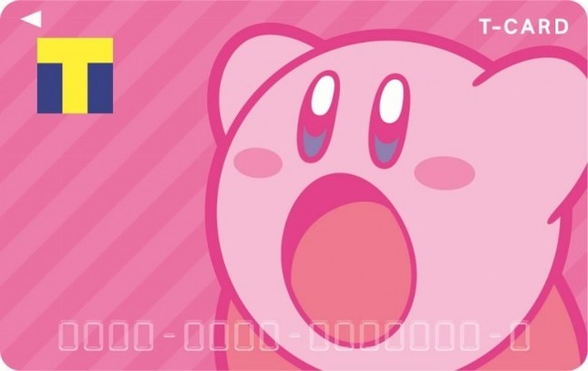 大人気ゲームキャラクター「星のカービィ」とTカードがコラボ