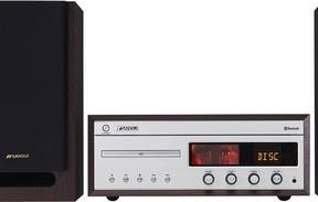 「SANSUI」ブランドから、Bluetooth機能やフォノ端子を搭載したCDステレオ