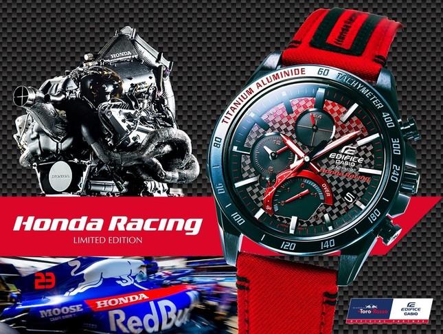 EDIFICE「Honda Racing」コラボレーションモデル「EQB-1000HRS-1AJR」(2)
