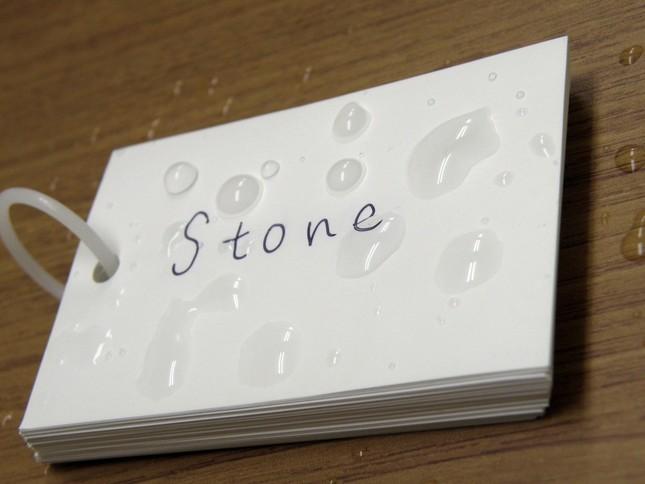 浴室で使える単語カード
