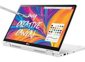 タブレットでも使える、LG初の「2 in 1」ノートPC「LG gram」