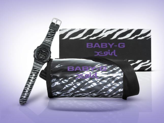 BABY-G×X-girlコラボモデル