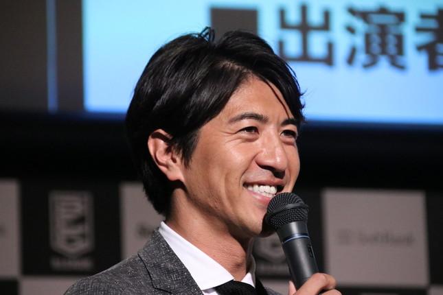 司会を務めたフリーアナウンサーの田中大貴さん