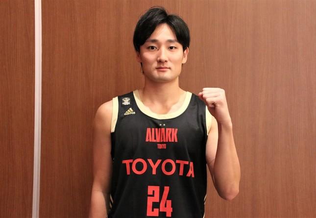 アルバルク東京の田中大貴選手