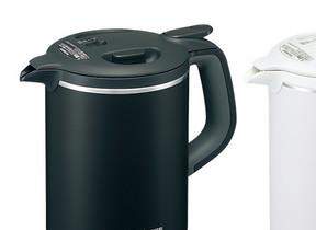 コーヒーをじっくり入れられる「ハンドドリップモード」搭載 電気ケトル