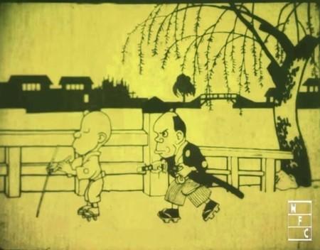 日本初のアニメーション作品の上映も