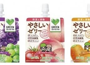 手軽に栄養サポート 「GREEN DA・KA・RA」のゼリー飲料