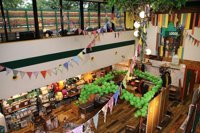 「アイリスイン城陽」1階のロゴスショップは京都初のLOGOS直営店